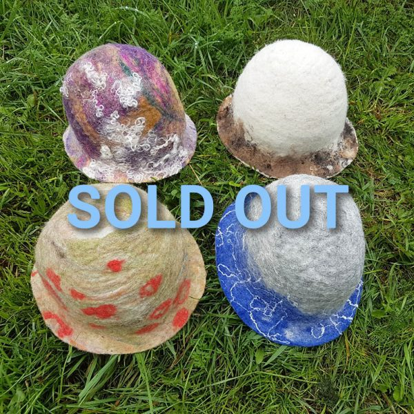 FACTS wet felted hats