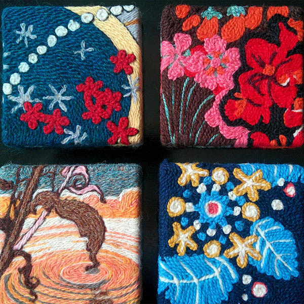 FACTS wool painting blocks