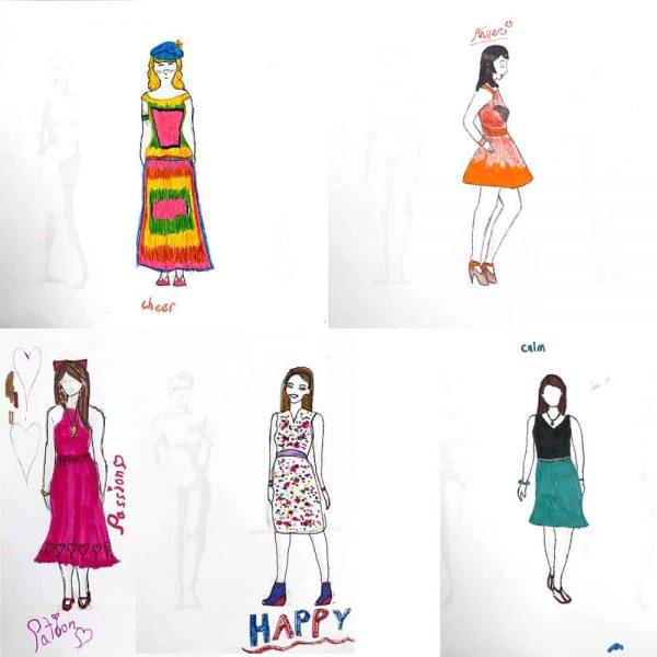 Threadheads student fashion drawings