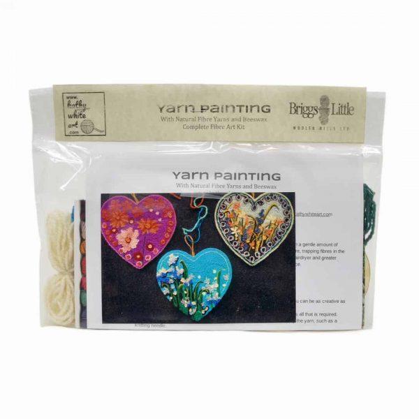 Kathy White Heart Kit