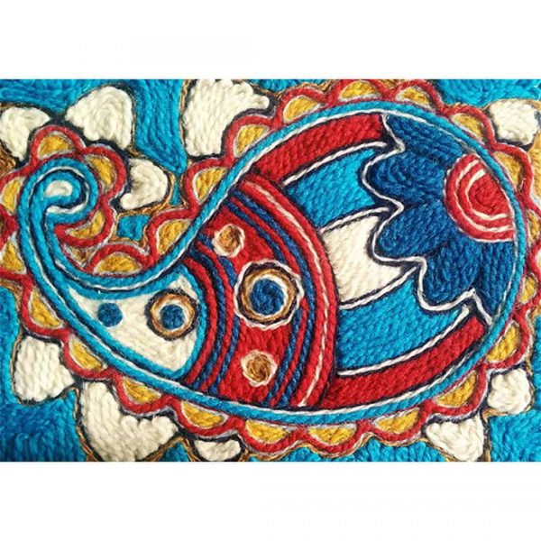 Wool Painting Paisley Kit