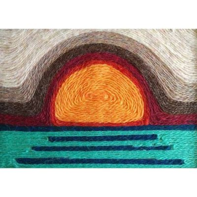 Wool Painting Sunset Kit