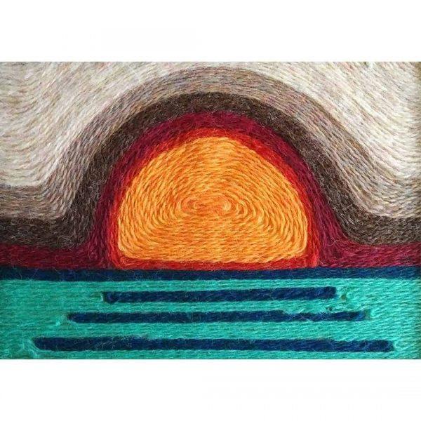 Wool Painting Sunset Kit