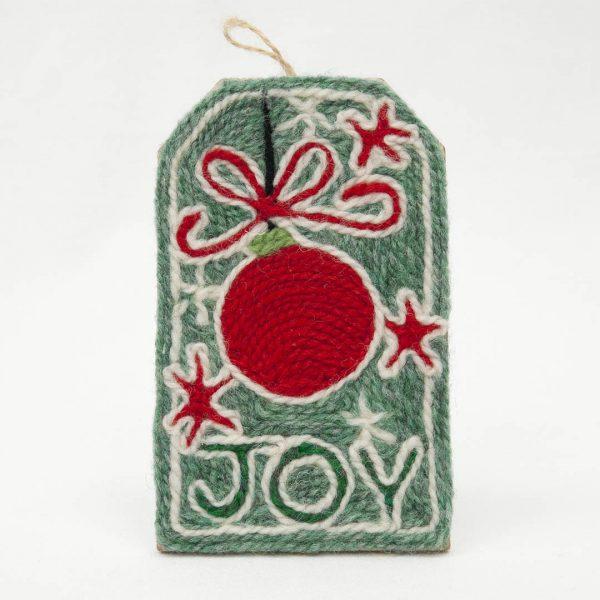 Joy Christmas Tag kit