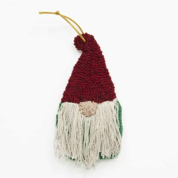 Rug Hooking Gnome