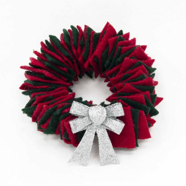 Rug Hooking Wreath