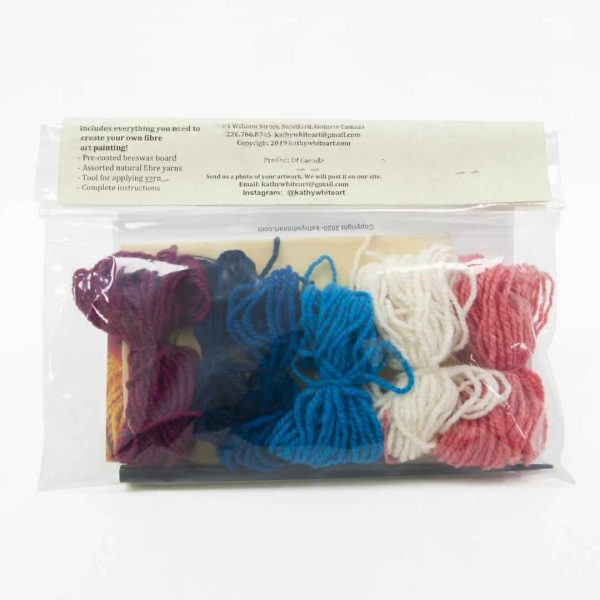 Snowflake Wool Painting Kit