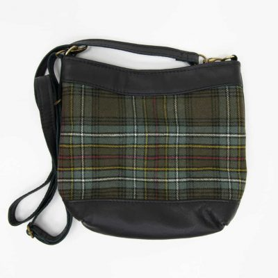 Tartan Swish With Black Leather