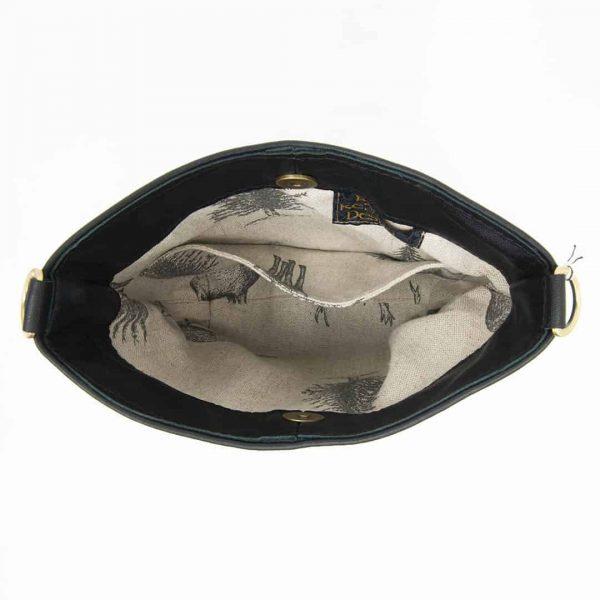 Tartan Swish With Black Leather