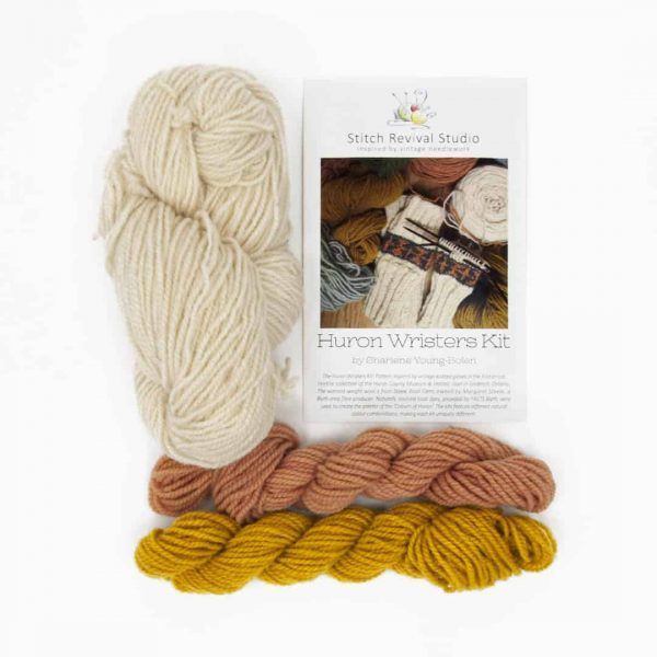 wrister kit - coreopsis marigold natural