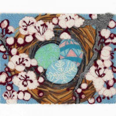 Spring Wool Painting Kit