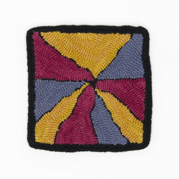 Rug Hooking Trivet - Web